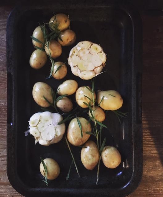 Täydelliset paahdetut perunat